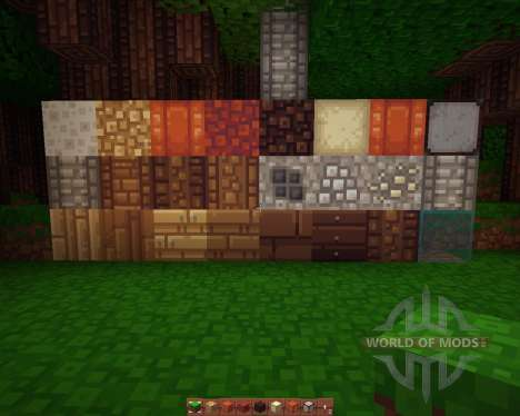 Quadral [16x][1.8.1] для Minecraft