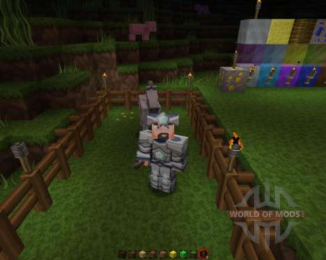 Sphax PureBDCraft [128x][1.8.1] для Minecraft
