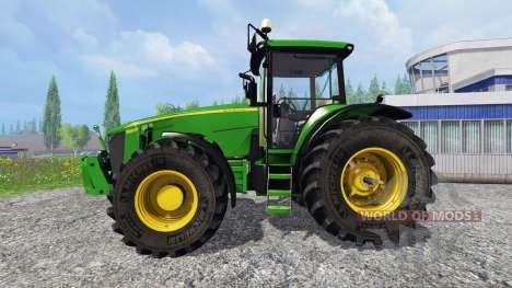 John Deere 8360R v2.0 для Farming Simulator 2015