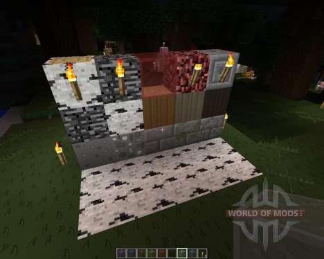 Project toon [128x][1.7.2] для Minecraft