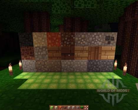 Quadral resourcepack [16х][1.8.1] для Minecraft