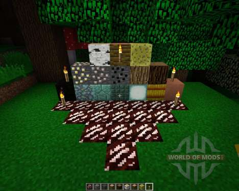 The Crafting Pack [16x][1.8.1] для Minecraft