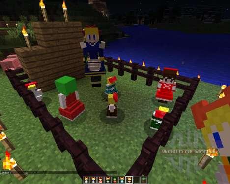 Touhou Alices Doll [1.6.2] для Minecraft