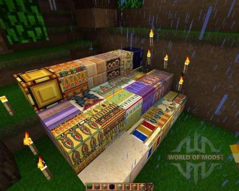 Ancient Egypt [16x][1.7.2] для Minecraft