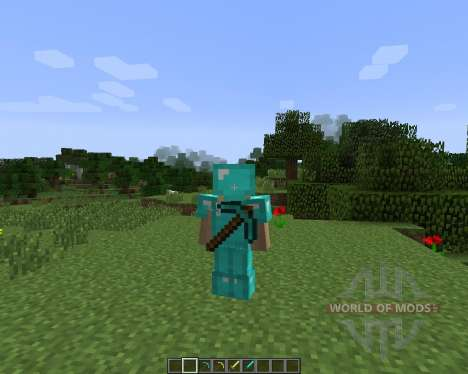 Back Tools [1.7.2] для Minecraft