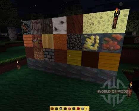 Chromatose [64x][1.7.2] для Minecraft
