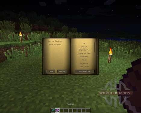Familiars [1.6.2] для Minecraft