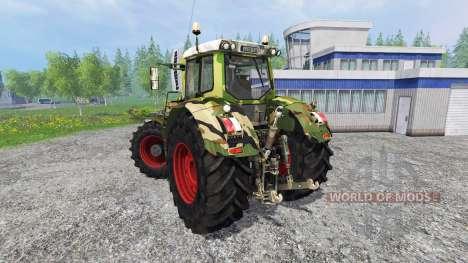 Fendt 936 Vario camouflage для Farming Simulator 2015