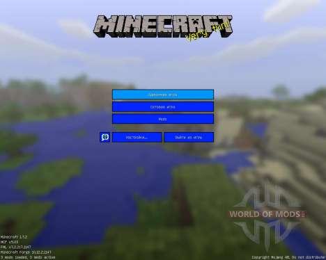 CleanCraft [16x][1.7.2] для Minecraft