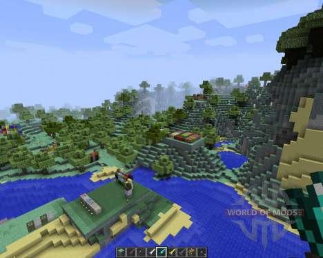 The Aether Pack [16x][1.8.1] для Minecraft