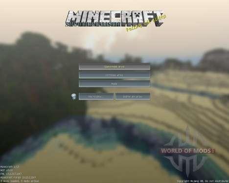 Smooth Realistic [128x][1.7.2] для Minecraft
