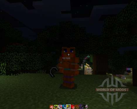 Five Nights At Freddys 2 [64х][1.8.1] для Minecraft