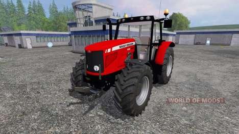 Massey Ferguson 6480 FL для Farming Simulator 2015