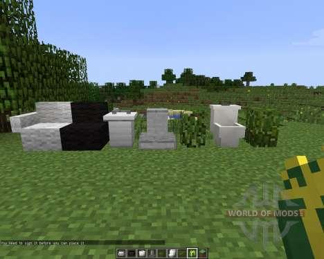 MrCrayfishs Furniture [1.7.2] для Minecraft