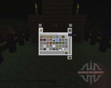 MrCrayfishs Furniture [1.6.2] для Minecraft