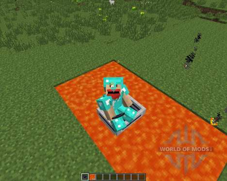 LavaBoat [1.7.2] для Minecraft