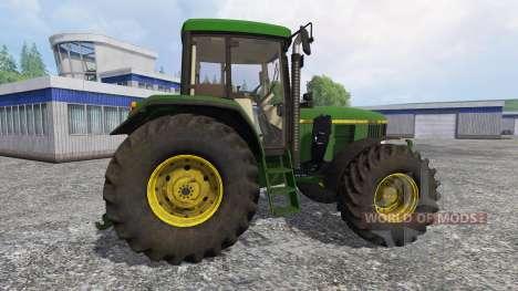 John Deere 6800 FL dirt для Farming Simulator 2015