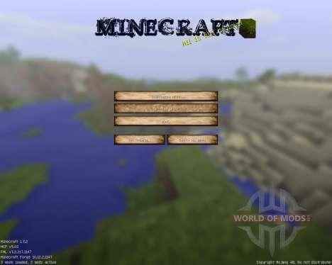 Motay Autumn [32x][1.7.2] для Minecraft