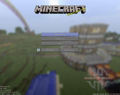 Holy Cube [16x][1.7.2] для Minecraft