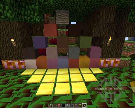 Trippin Texture Pack [16x][1.7.2] для Minecraft