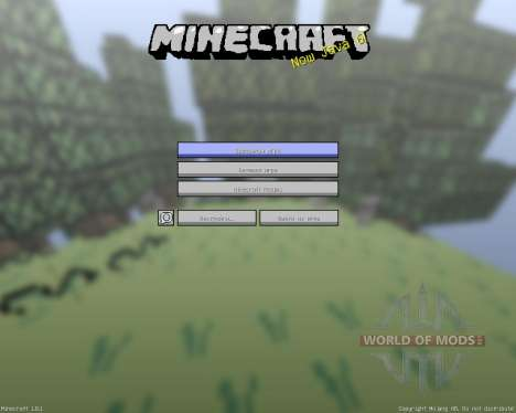 Retro 8-bit Texture Pack [16x][1.8.1] для Minecraft