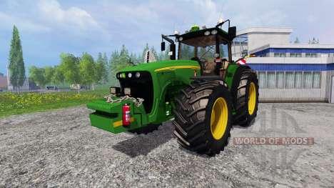 John Deere 8520 [plowing] для Farming Simulator 2015