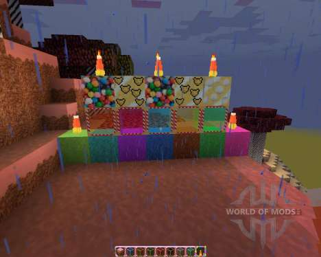Sugar Pack [32x][1.7.2] для Minecraft