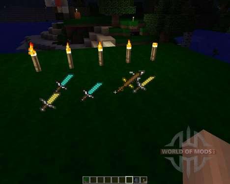 Pvp pack [16x][1.7.2] для Minecraft