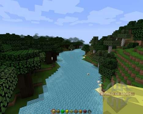 Simple sharp [128х][1.8.1] для Minecraft
