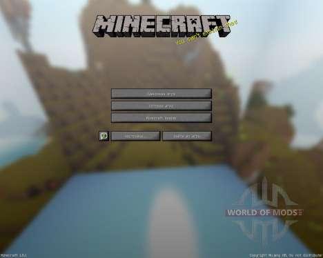 MauZi Realistic [16x][1.8.1] для Minecraft