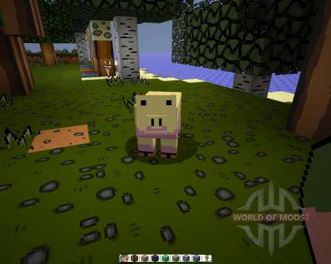 The Scribblenauts [32x][1.8.1] для Minecraft