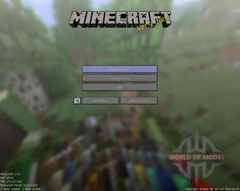 ShwingCraft [16x][1.7.2] для Minecraft