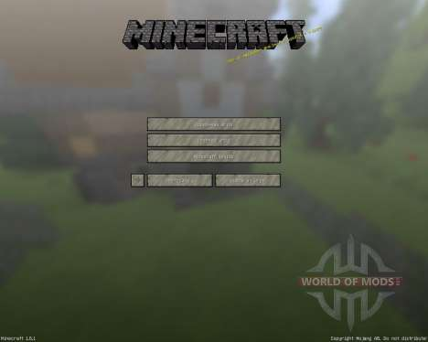 Melissa Smooth [16x][1.8.1] для Minecraft