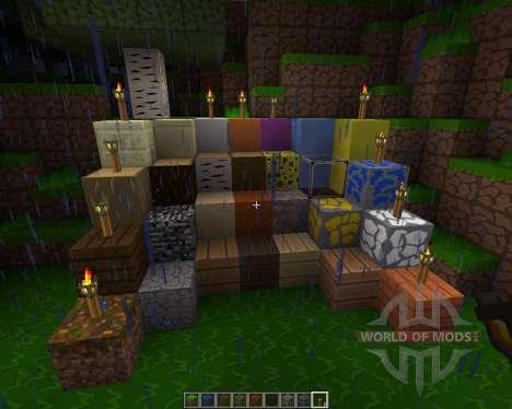 SparkleCraft [256x][1.7.2] для Minecraft
