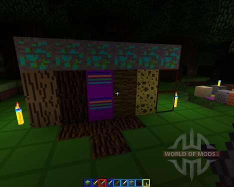 Crazy colors [16x][1.7.2] для Minecraft