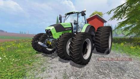 Deutz-Fahr Agrotron 7250 TTV v1.2 для Farming Simulator 2015