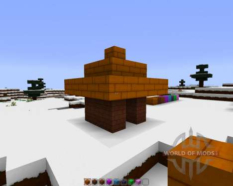 Organics: Modern and Realistic [32x][1.8.1] для Minecraft