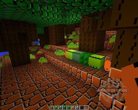 Mario Bros [16x][1.7.2] для Minecraft