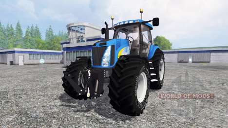 New Holland T8040 v4.1 для Farming Simulator 2015