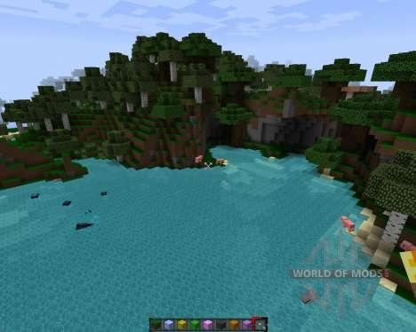 SporkPack [64x][1.7.2] для Minecraft