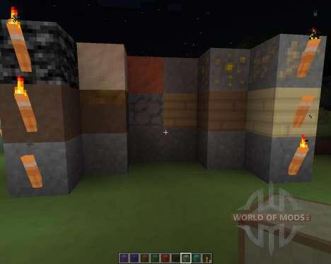 Potatos Simplistic [16x][1.7.2] для Minecraft