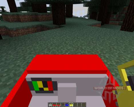 Cars and Drives [1.7.2] для Minecraft