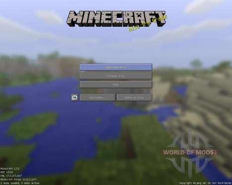 DerpToonCraft [32x][1.7.2] для Minecraft
