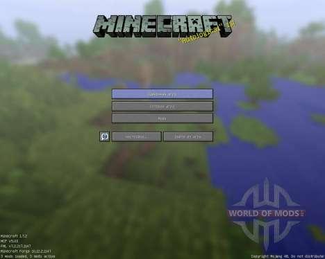 Rectangular Pack [128x][1.7.2] для Minecraft