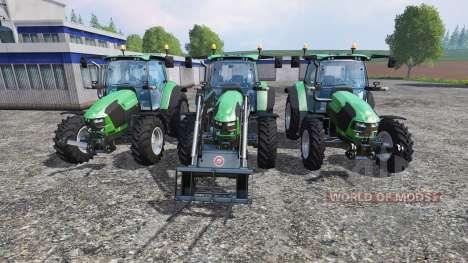 Deutz-Fahr 5110 TTV v2.0 для Farming Simulator 2015