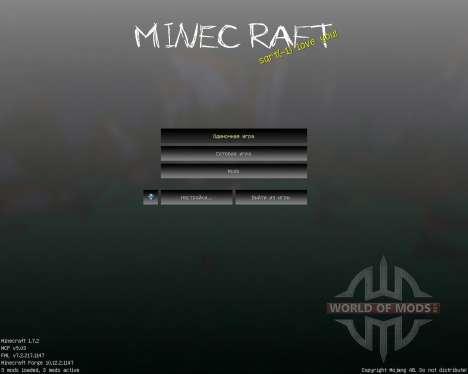 SlenderCraft [16x][1.7.2] для Minecraft