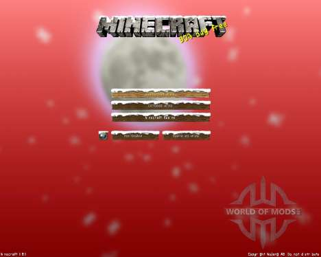 HerrSommer A Christmas Carol v3 [64x][1.8.1] для Minecraft