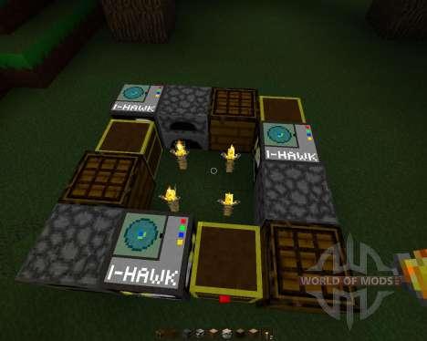 HawkPack [32x][1.7.2] для Minecraft