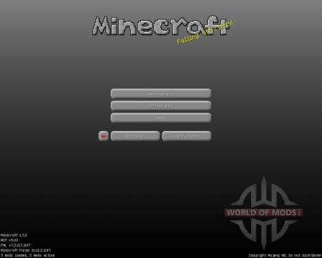 Vivid Torrential [16x][1.7.2] для Minecraft