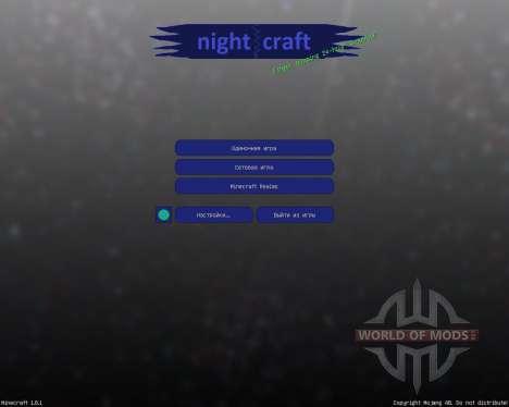 Nightcraft [32х][1.8.1] для Minecraft